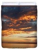 Sunset Oregon Duvet Cover