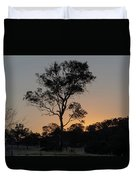 Sunset - Out In The Country Duvet Cover