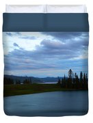 Sunset Out West Duvet Cover