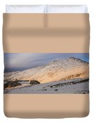 Sunset Over Lakes Of The Clouds Duvet Cover