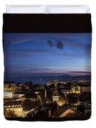 Sunset Over Lausanne   Duvet Cover
