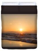 Sunset Over  Duvet Cover