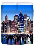 Magic Manhattan Duvet Cover