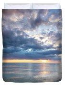 Sunset Over Naples Beach II Duvet Cover