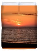 Sunset Over St. Ives Bay Duvet Cover