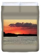 Sunset Over Tampa Bay 2 Duvet Cover