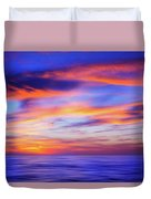 Sunset Palette Duvet Cover