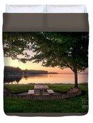 Sunset Picnic Duvet Cover