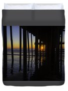 Sunset Pismo Beach Duvet Cover