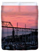 Sunset Port Duvet Cover