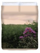 Sunset Purple  Duvet Cover