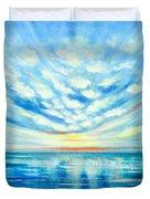 Sunset Quest Blue Duvet Cover