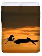 Sunset Race Duvet Cover