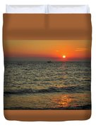 Sunset Ride Cape May Point Nj Duvet Cover