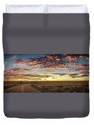 Sunset Road Duvet Cover