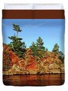 Sunset Rock Duvet Cover