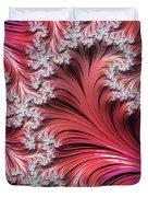 Sunset Romance Abstract Duvet Cover