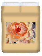 Sunset Rose Duvet Cover