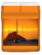 Sunset Sails Duvet Cover
