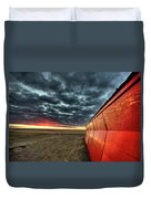 Sunset Saskatchewan Canada Duvet Cover