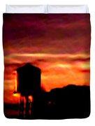 Sunset Se Duvet Cover