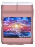 Sunset Sea Duvet Cover