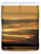 Sunset Shelbyville Duvet Cover