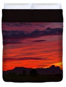 Sunset Silhouette H1816 Duvet Cover