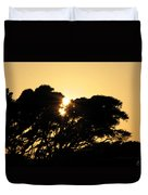 Sunset Silhouette II Duvet Cover