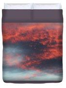 Sunset Skies 052814c Duvet Cover