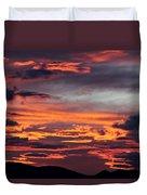 Sunset Skies 052814d Duvet Cover