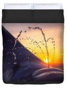 Sunset Spout 0017 Duvet Cover