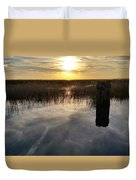 Sunset St Clair  Duvet Cover