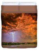 Sunset Strike Duvet Cover