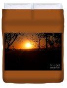 Sunset Summer Duvet Cover