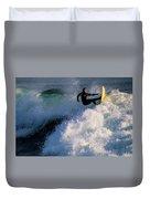 Sunset Surfing Duvet Cover