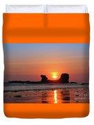 Sunset To Remeber  Duvet Cover