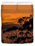 Sunset /torrey Pines Image 2 Duvet Cover