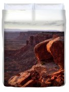 Sunset Tour Valley Of The Gods Utah Vertical 01 Duvet Cover