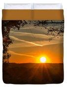 Sunset Vienna West Virginia Duvet Cover