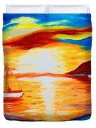 Sunset View Duvet Cover