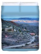 Sunset View From Jerome Arizona Duvet Cover