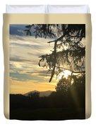 Sunset View From Olana  Duvet Cover
