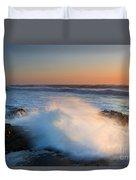 Sunset Wave Explosion Duvet Cover