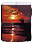 Sunset - Wonder Of Nature Duvet Cover