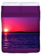 Sunsets Happen Duvet Cover