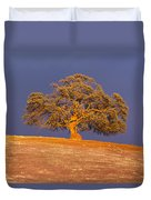 Sunset's Warm Glow Duvet Cover
