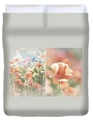 Sunshine And Poppies Duvet Cover