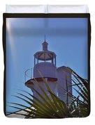 Sunshine At The Lighthouse Duvet Cover
