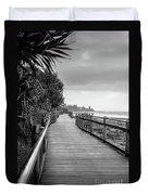Sunshine Coast Boardwalk  Duvet Cover